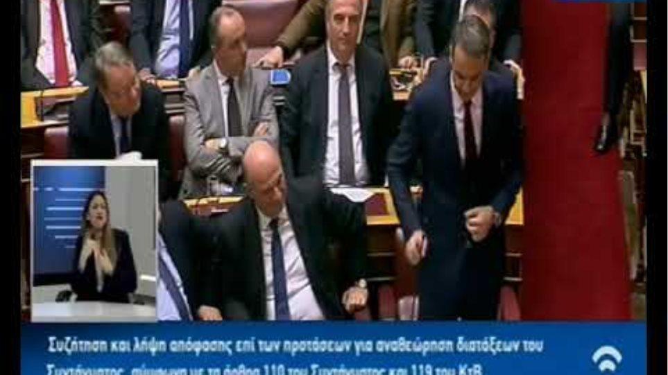 Σύγκρουση Τσίπρα-Μητσοτάκη για Παυλόπουλο και Σύνταγμα