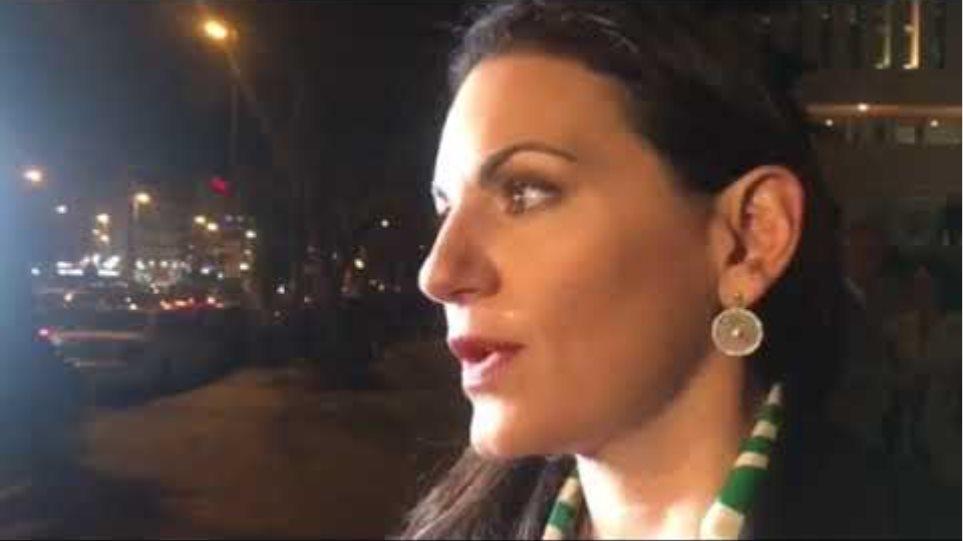 Δηλώσεις Όλγας Κεφαλογιάννη για την επίθεση