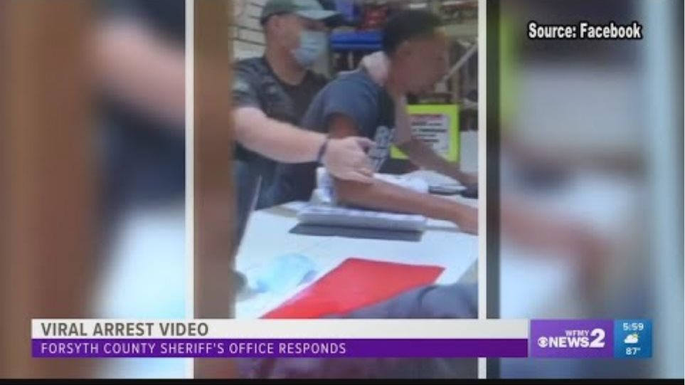 Cooks Flea Market arrest: Sheriff says deputy asked man to leave five times