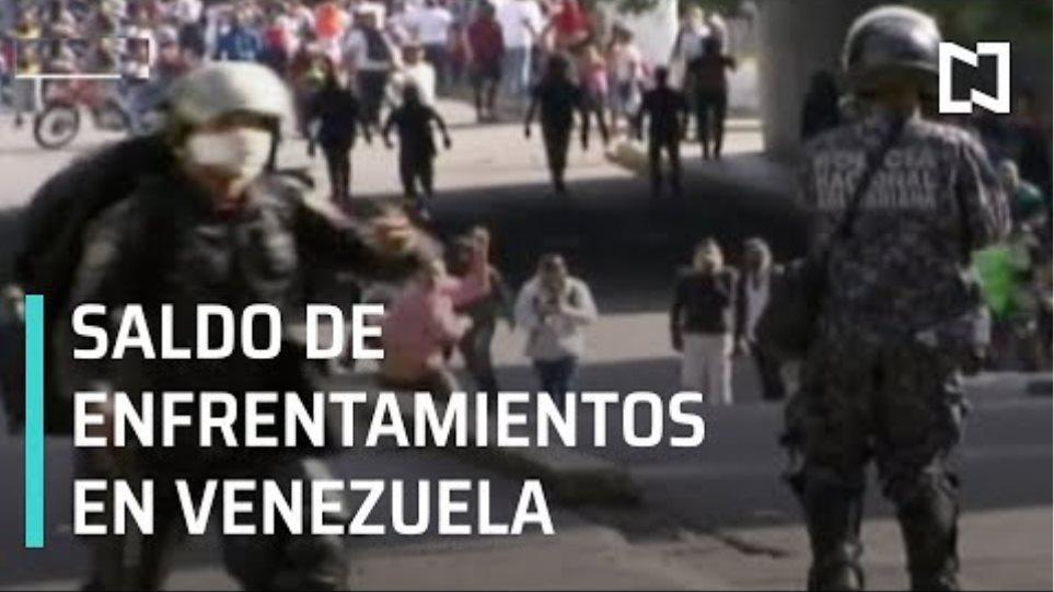 Protestas en Venezuela dejan muertos y heridos - Las Noticias