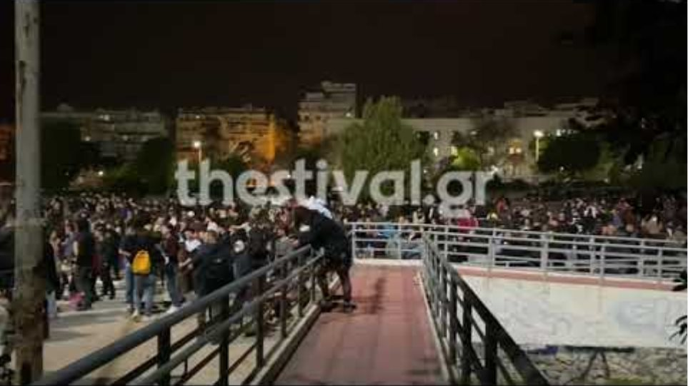 Thestival.gr Πάρτυ στην πλατεία Χημείου του ΑΠΘ