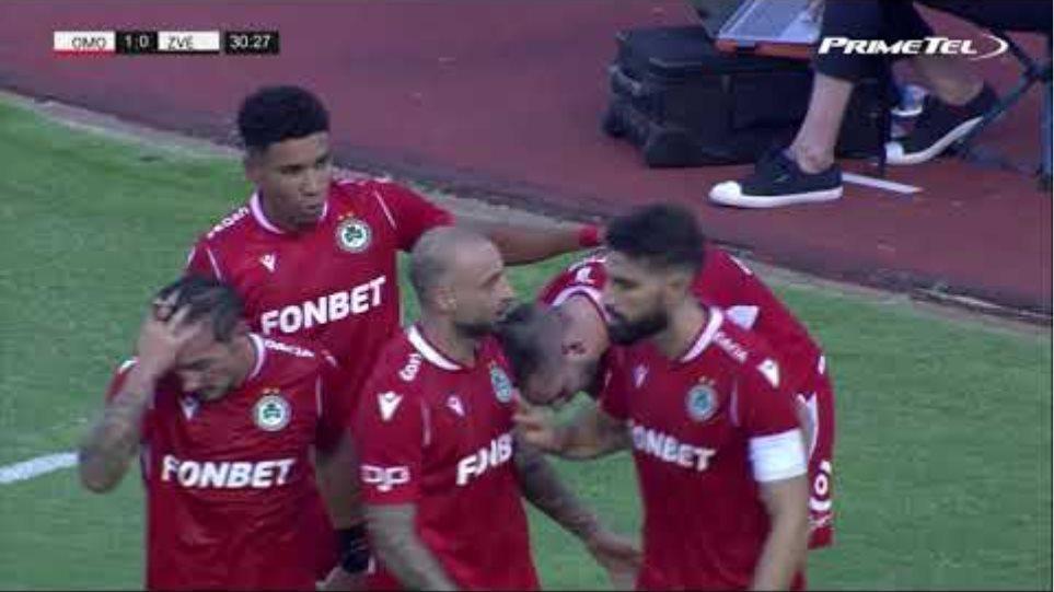 OMONOIA - FK Crvena zvezda 1-0 (16/09/2020)