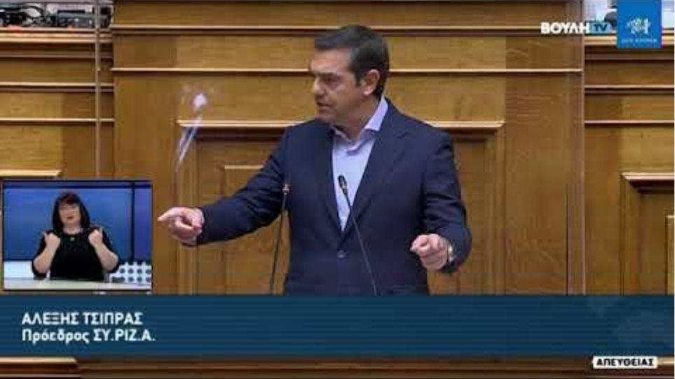"""Ολομέλεια βουλης 12/3/21: Το """"κατηγορώ"""" για την οικονομία"""