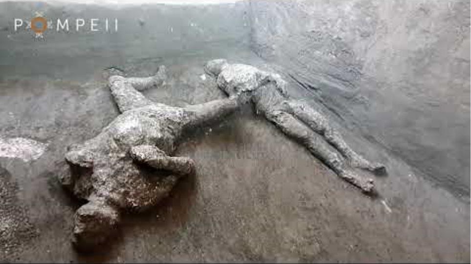 L'impronta del dolore: le vittime di Civita Giuliana – Gli ultimi calchi di Pompei
