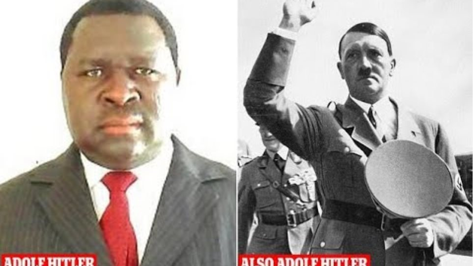 Politician named after Adolf Hitler wins election in Namibia
