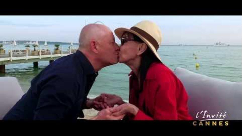 """Anna KARINA : """"Le baiser de Cannes"""""""