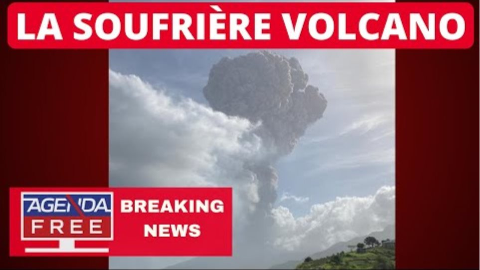 Explosive Eruption at La Soufriere Volcano on St. Vincent - LIVE BREAKING NEWS COVERAGE