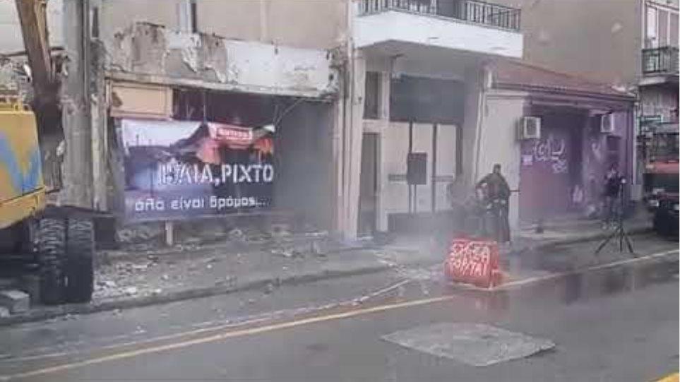 Γκρεμίστηκε ιστορικό ιστορικός οίκος ανοχής στη Λάρισα