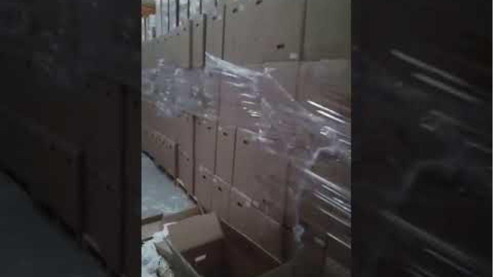 Χτύπημα της Αστυνομίας σε παράνομα εργοστάσια καπνού και τσιγάρων 1