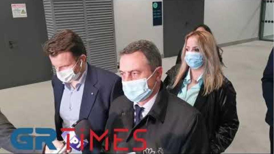 Μπογιατζίδης δηλώσεις από αεροδρόμιο - GRTimes.gr