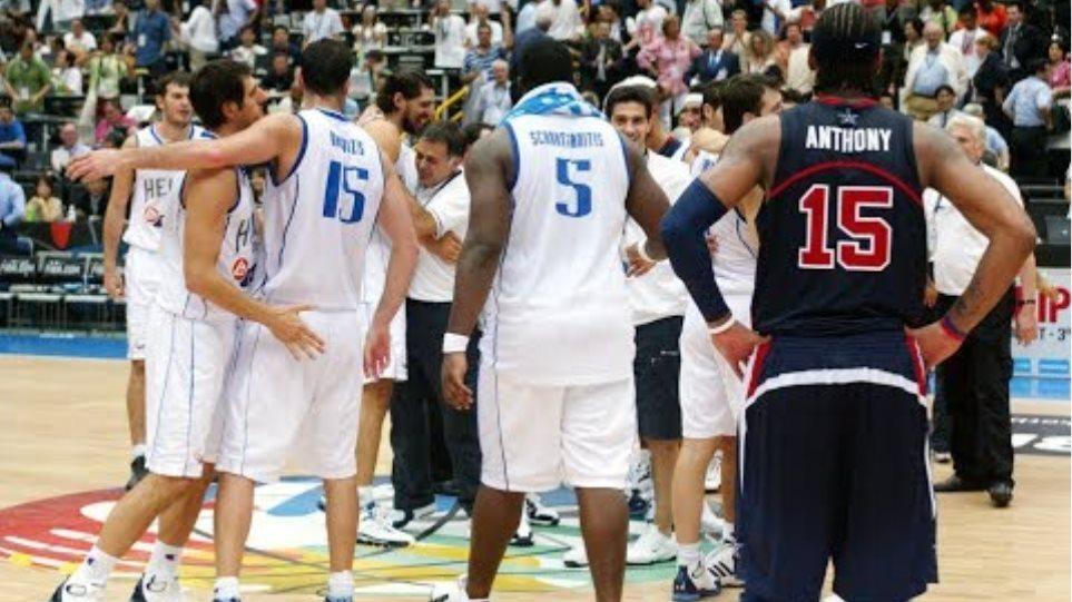 Ελλάδα - ΗΠΑ 101-95 /Ημιτελικά Μουντομπάσκετ 2006 - Στιγμιότυπα {1-9-2006}