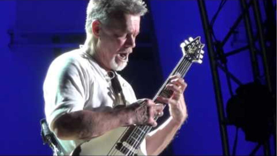 Eddie Van Halen Guitar Solo at Hollywood Bowl 10/2/2015