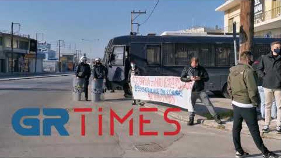 Φοιτητές διαμαρτυρία ΓΑΔΘ - GRTimes.gr