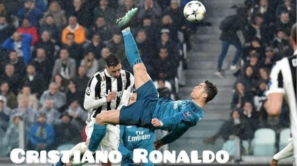 Cristiano Ronaldo - Juventus vs Real Madrid - bicycle kick goal