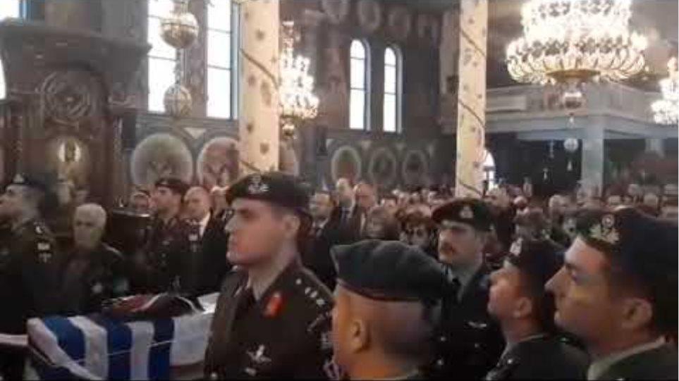 Με τιμές και δόξα η ταφή των οστών του Γ. Κατσάνη στο Σιδηρόκαστρο (15/2/2020)