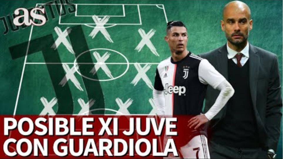 ¡Messi y Cristiano juntos! En Inglaterra ya hablan del XI de Guardiola en la Juventus  Diario As