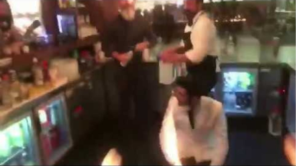 Flame show goes horrible wrong at Salt Bae restaurant in Turkey.