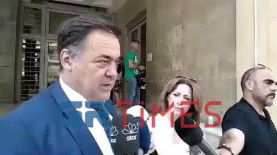 Χ. Αποστολίδης δικηγόρος πρώην συζύγου της κοκκινομάλλας