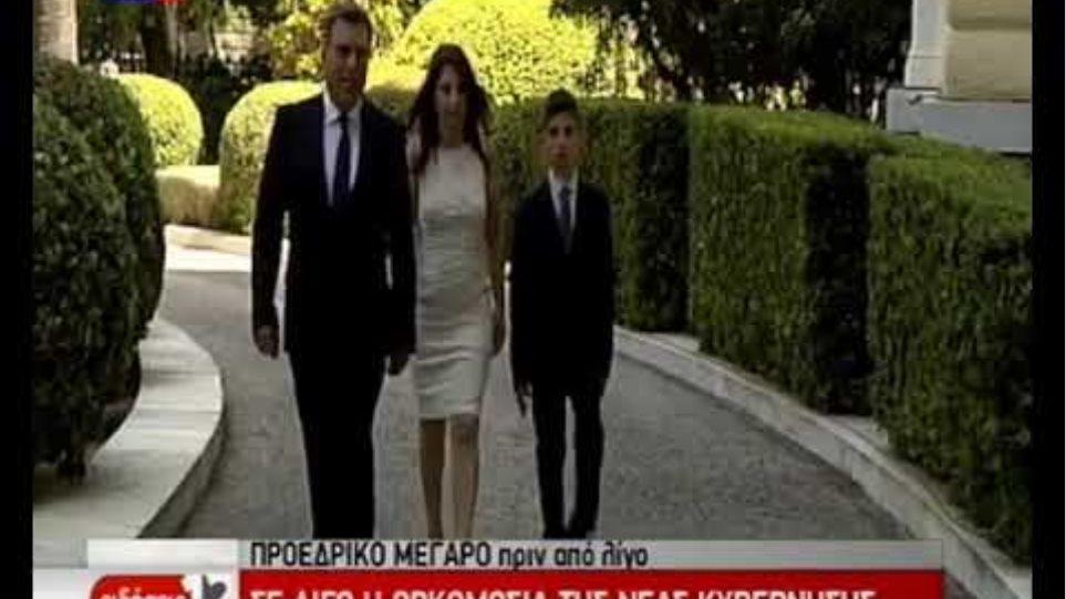 Ορκίστηκε η κυβέρνηση του Κυριάκου Μητσοτάκη