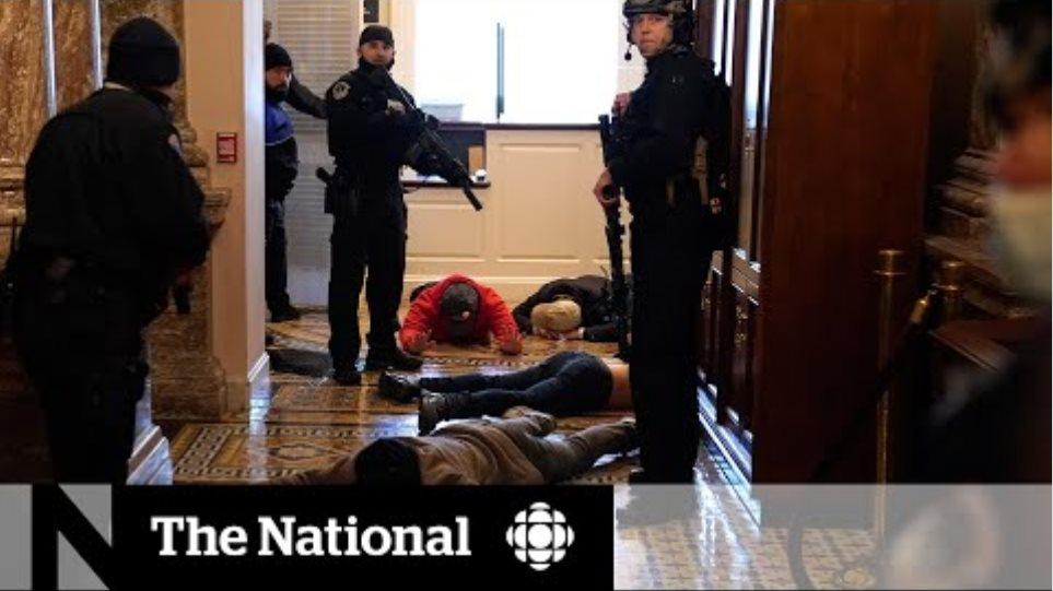 Pro-Trump mob storms U.S. Capitol