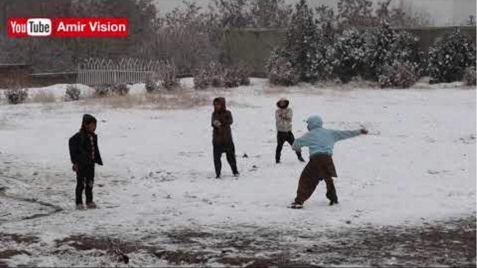 Amazing Snowfall in Kabul, Afghanistan 2020