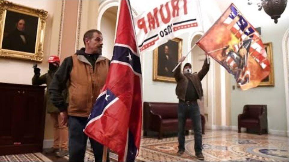 Protesters storm the U.S. Capitol, interrupting electoral vote count