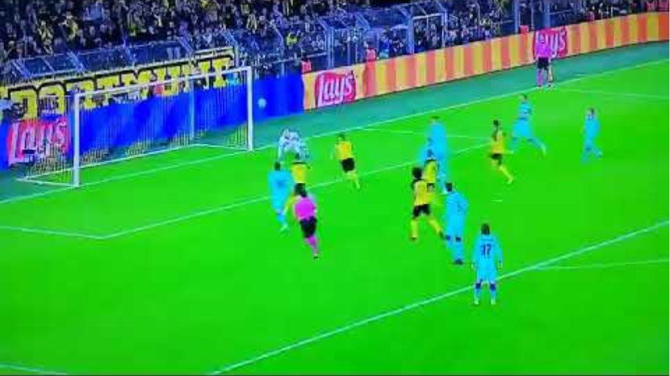 Marco Reus Missed Penalty Borussia dortmund vs Barcelona