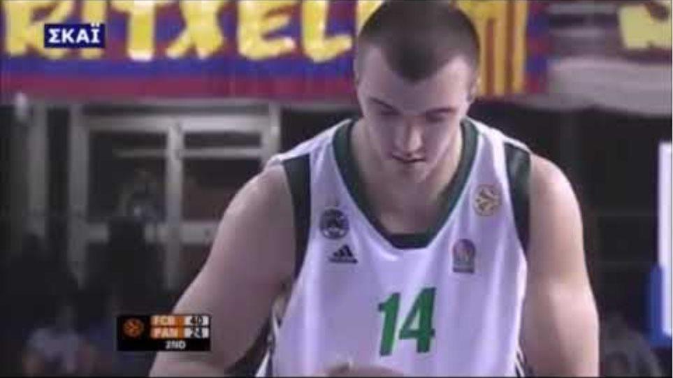 Nikola Pekovic (Panathinaikos) Euroleague Highlights [2008-2009]