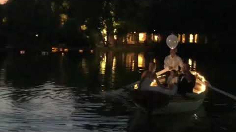 Στιγμιότυπα από το γάμο του Αντώνη Ρέμου με την Υβόννη Μπόσνιακ (1)
