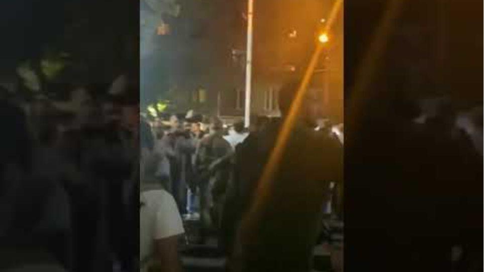 Armenia ARF volunteers in Yerevan leaving for the frontlines