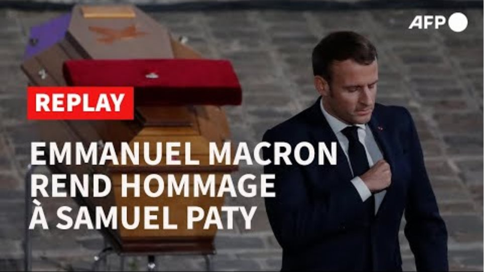 REPLAY - Hommage national à l'enseignant Samuel Paty