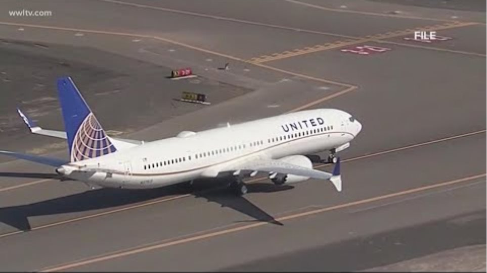 United passenger showing COVID symptoms has died
