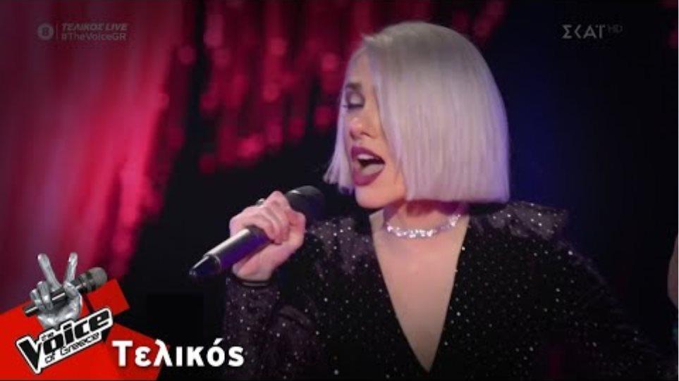 Ιωάννα Γεωργακοπούλου  - It's a Man's Man's Man's World   Τελικός   The Voice of Greece