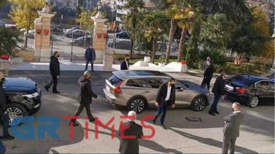 Στο ΥΜΑΘ ο πρωθυπουργός Κυριάκος Μητσοτάκης - GRTimes.gr