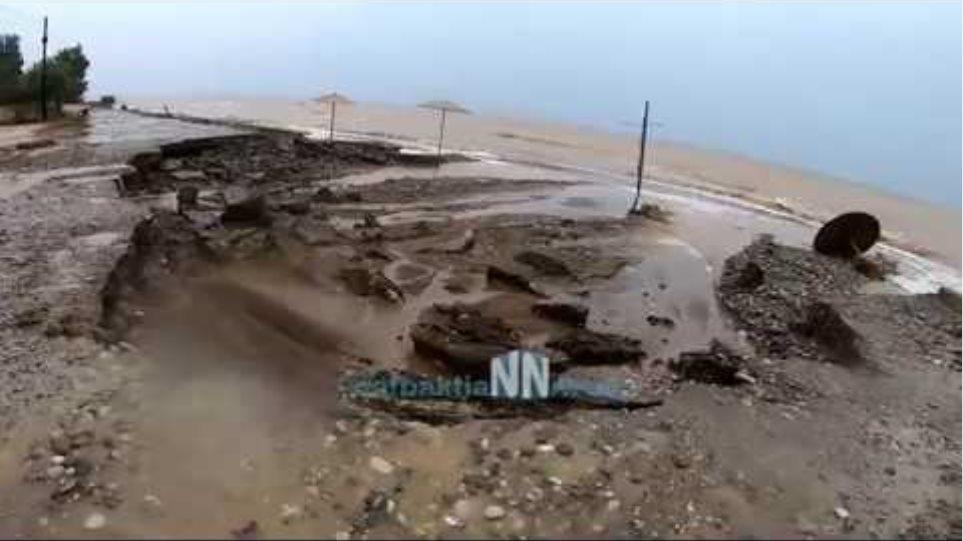 Ναυπακτία:Βιβλικη καταστροφές στην Δημοτική Ενότητα Αντιρρίου