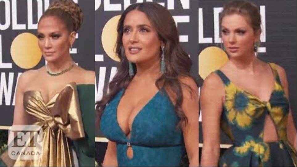 2020 Golden Globes Red Carpet Looks
