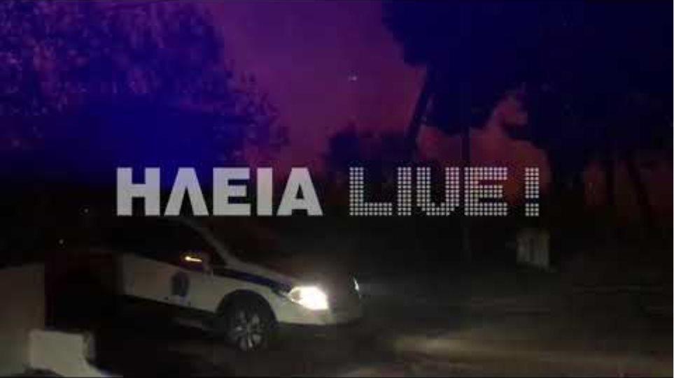 ilialive.gr - Η φωτιά μέσα στη Σκιλλουντία