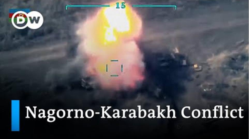 Armenia accuses Turkey of shooting down warplane in Nagorno-Karabakh conflict | DW News
