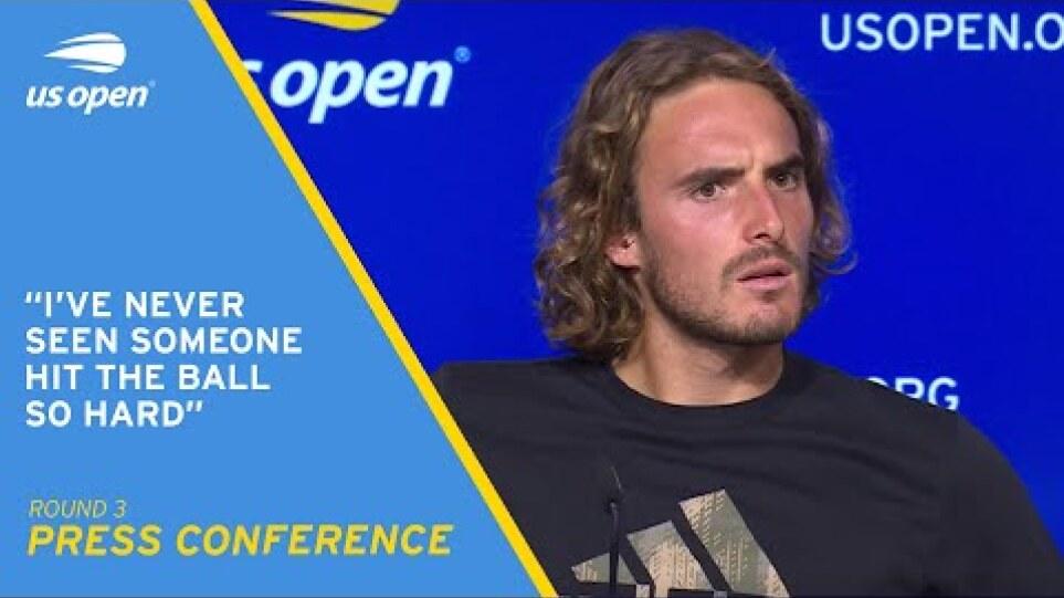 Stefanos Tsitsipas Press Conference | 2021 US Open Round 3