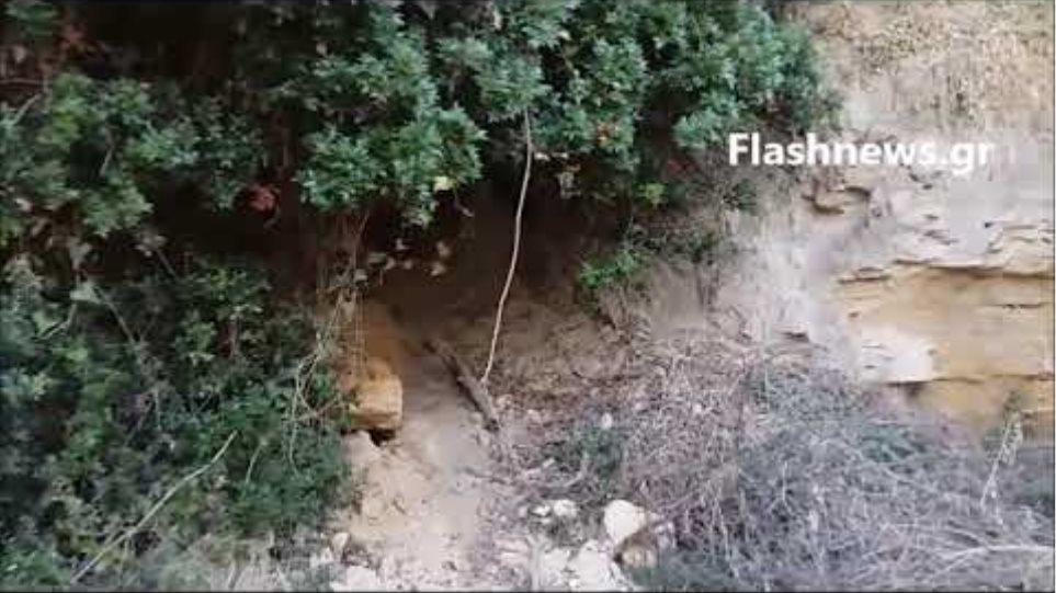 Το τούνελ όπου βρέθηκε νεκρή η Suzanne Eaton