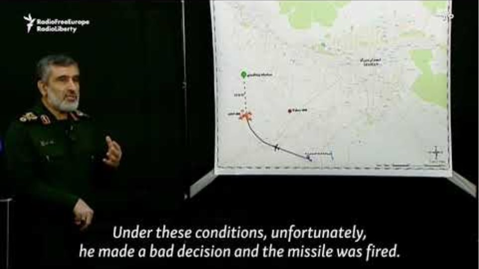 Iranian General: Commander Had '10 Seconds' To Decide On Shooting Airliner
