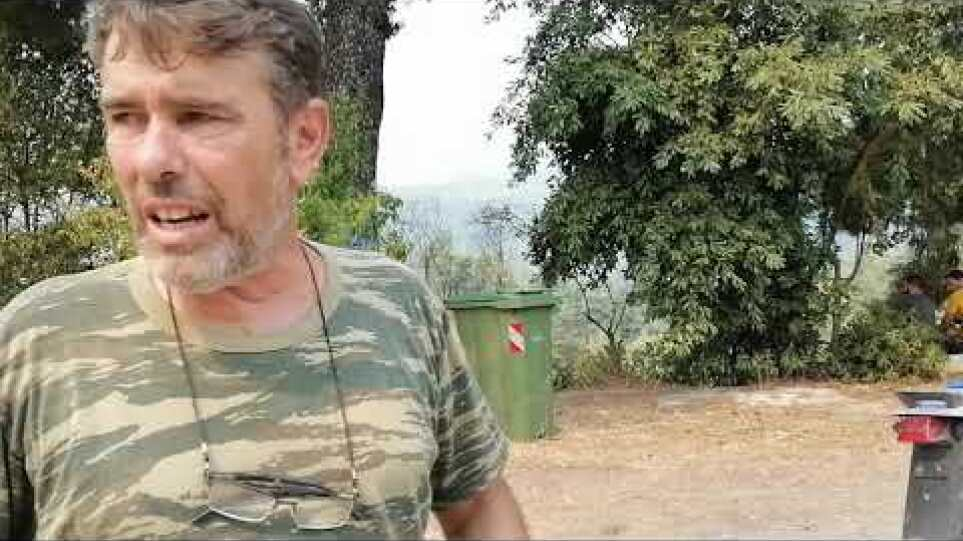 Πρόεδρος Ρητινοκαλλιεργητών για πυρκαγιά στην Β. Εύβοια