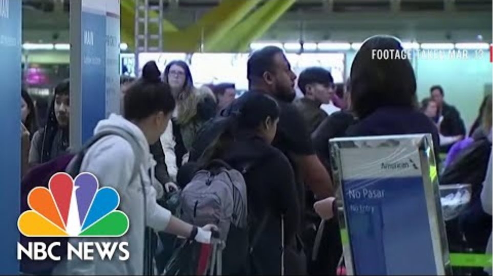 Timeline: How The Coronavirus Spread In The United States | NBC News NOW