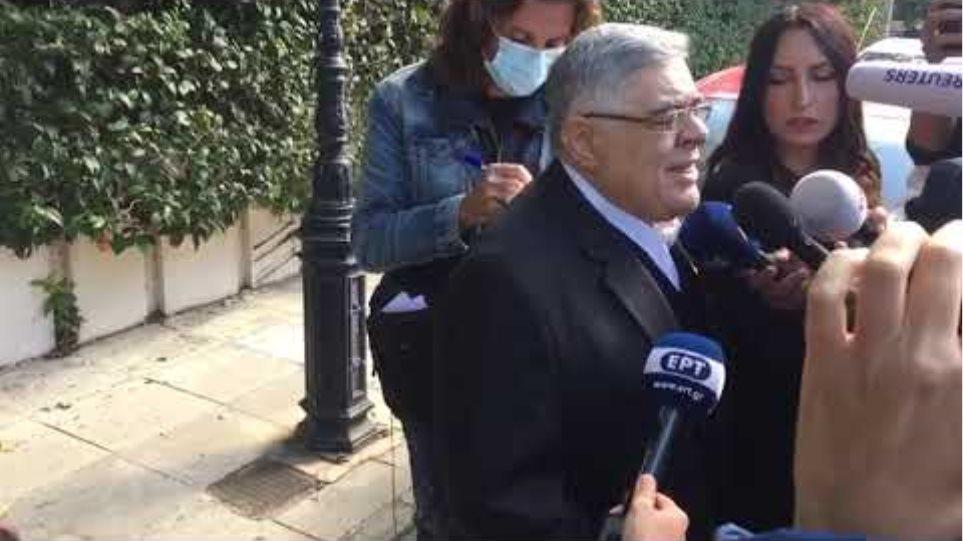 Δήλωση Μιχαλολιάκου μετά την ανακοίνωση της καταδίκης του