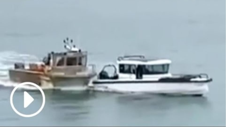 French boat rams British vessel in jersey waters | protest over fishing rights