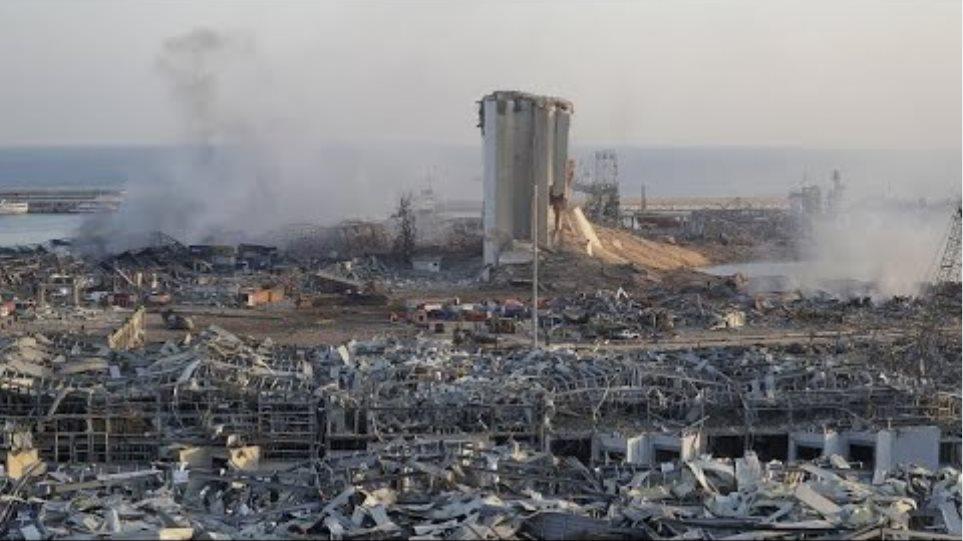 Βηρυτός: Η στιγμή της έκρηξης