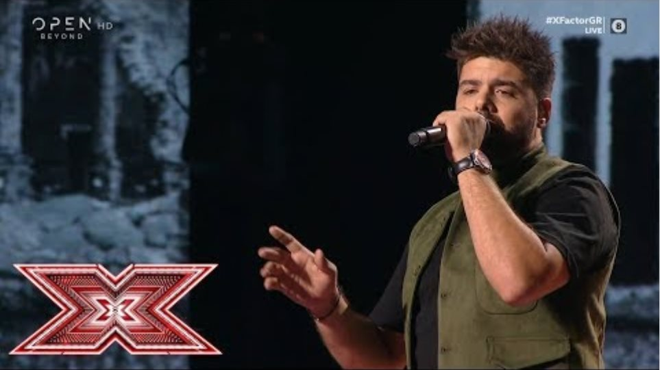 «Τα σμυρνέικα τραγούδια» από τον Νεκτάριο Ρήγα | Live 1 | X Factor Greece 2019