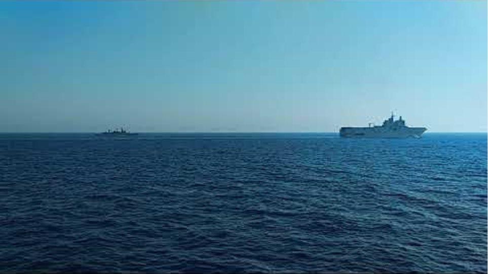 Ελληνογαλλική ασπίδα: Δείτε βίντεο και φωτογραφίες από την κοινή άσκηση στην Ανατολική Μεσόγειο (II)