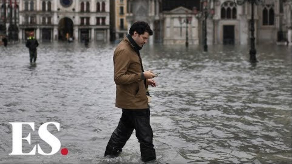Venice flooding: Italian city under water after highest tide in 50 years