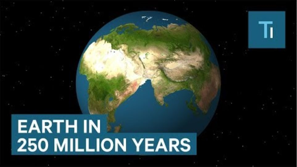 How Earth Will Look In 250 million Years